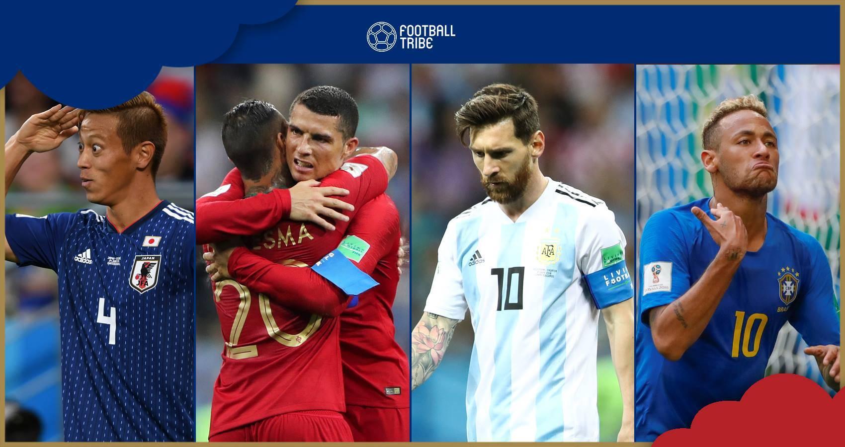 ใครลุ้น-ใครร่วง: เปิดเงื่อนไขเข้ารอบน็อคเอาท์ทุกกลุ่มฟุตบอลโลก 2018