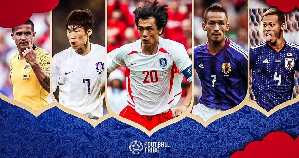 ระดับตำนาน: แข้งเอเชียลงเล่นฟุตบอลโลกมากนัดสุด