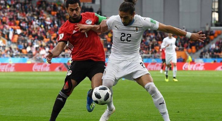 ซาลาห์แค่นั่งดู! อุรุกวัยโขกชัยท้ายเกมเฉือนอียิปต์ 1-0