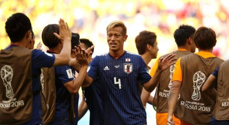 เอเชียคนแรก! ฮอนดะจารึกสถิติใหม่บอลโลกหลังญี่ปุ่นเฉือนโคลอมเบีย