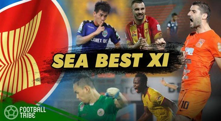 TRIBE SEA BEST XI: ทีมอาเซียนยอดเยี่ยมประจำสัปดาห์ (29พ.ค.-4 มิย.)