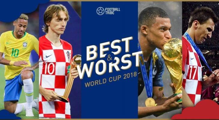 BEST & WORST: ยอดเยี่ยม-ยอดแย่ ฟุตบอลโลก 2018