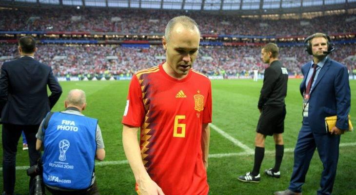 """14ปีแห่งความทรงจำ! เปิดถ้อยคำอำลาทีมชาติสเปนของ """"อิเนียสตา"""""""