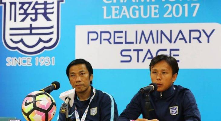 Các cầu thủ Kitchee tự tin trước trận gặp Hà Nội FC