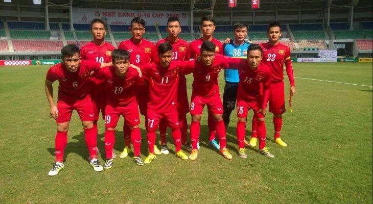 U18 Việt Nam đoạt giải ba giao hữu quốc tế Asean – Côn Minh 2017