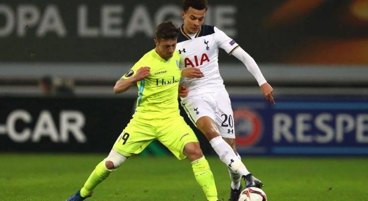 Harry Kane phản lưới nhà, Tottenham bị loại khỏi Europa League trong tiếc nuối