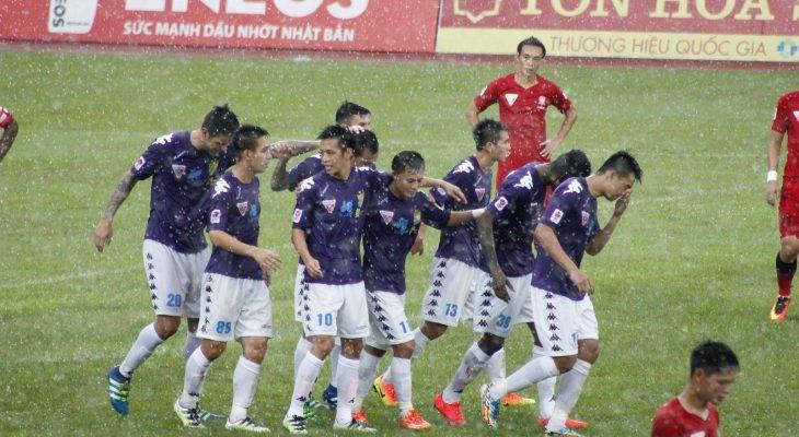 Hà Nội FC mất ba cầu thủ vì bị treo giò tại vòng 19 V.League