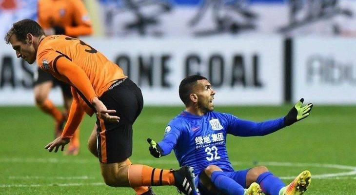 Play-off AFC Champions League 2017: Tevez không thể cứu vớt Shanghai Shenhua ở ngày ra mắt