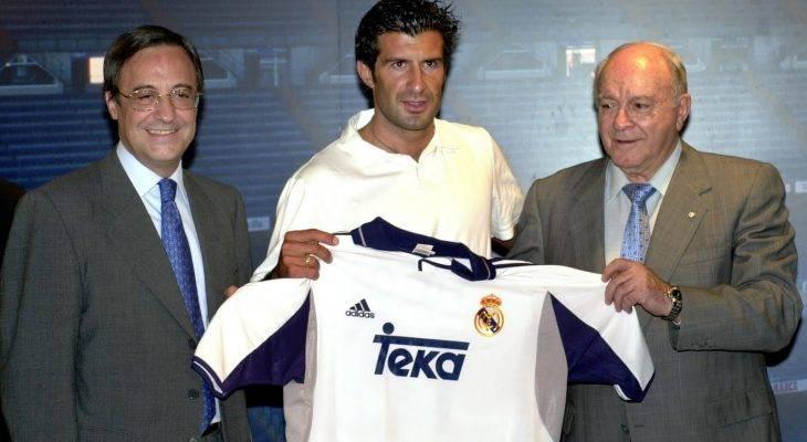 Luis Figo tiết lộ lý do chuyển sang Real Madrid
