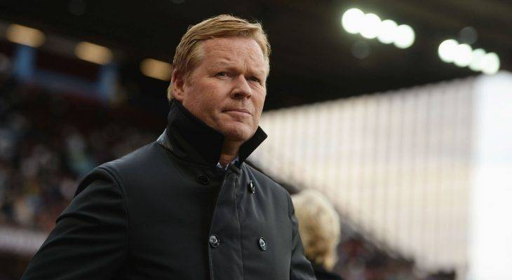 HLV Ronald Koeman sắp chia tay Everton, cập bến Barca?