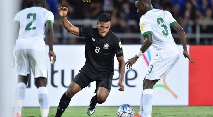 Thái Lan 0-3 Ả Rập Xê-Út : Không có bất ngờ