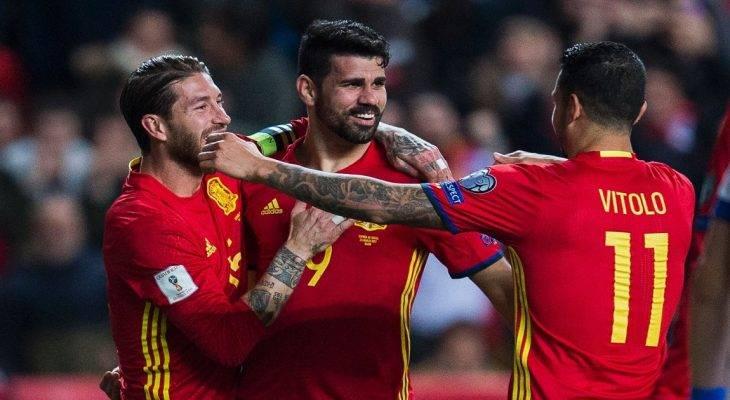 Vòng loại WC 2018: Tây Ban Nha và Italy giữ chắc tốp đầu
