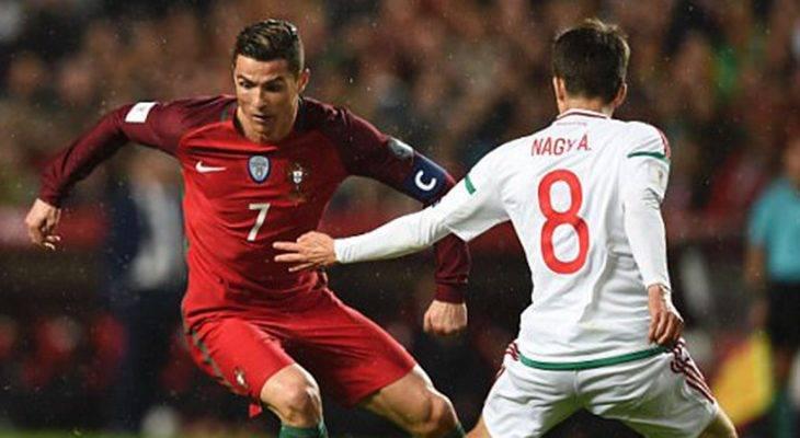 Vòng loại WC2018: Ronaldo lập cú đúp thắp sáng hy vọng cho Bồ Đào Nha