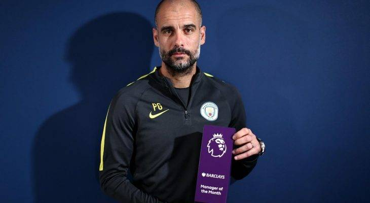 Premier League: Harry Kane, Pep Guardiola xuất sắc nhất tháng 2