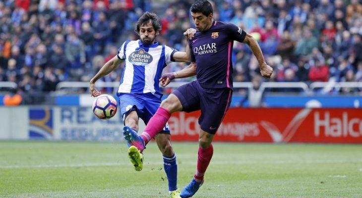 """Deportivo 2-1 Barcelona: """"Tử huyệt"""" tình huống cố định"""