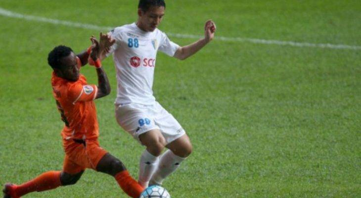 Video: Bàn gỡ hoà của Hùng Dũng (Hà Nội 1-1 Felda, AFC Cup)