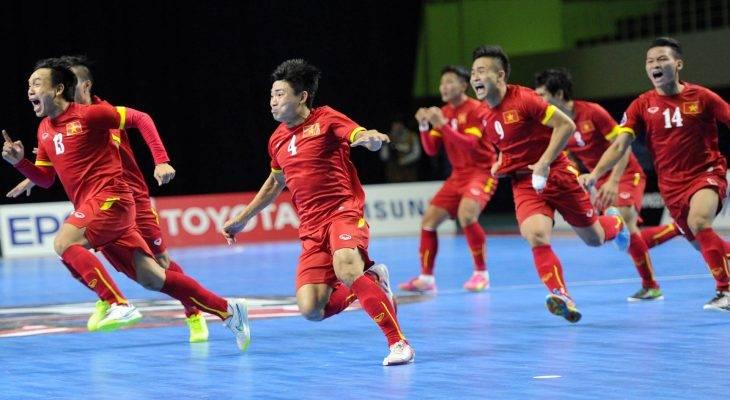 ĐT Futsal Việt Nam giành giải Fair-play 2016