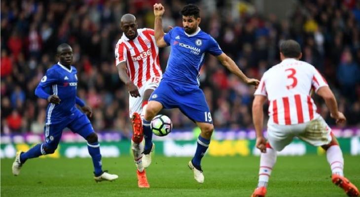 Stoke City 1-2 Chelsea: 3 điểm khó nhọc