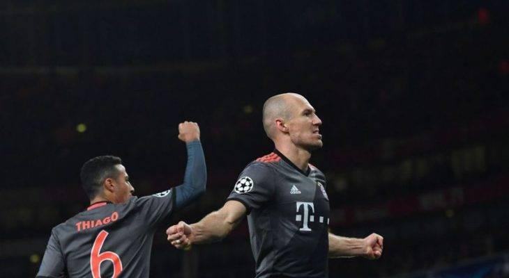 Điểm tin tối 8/3: Robben không hài lòng với màn trình diễn của Bayern Munich