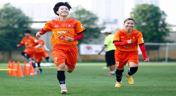Đội tuyển nữ Việt Nam sẵn sàng cho vòng loại Asian Cup 2018