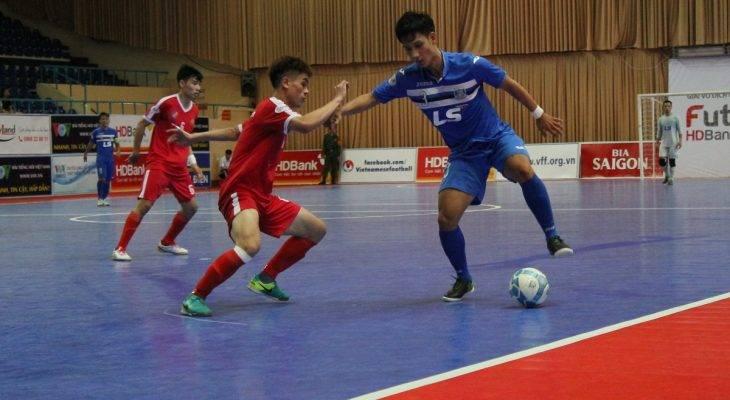 Thái Sơn Nam thắng đậm ở giải Futsal VĐQG