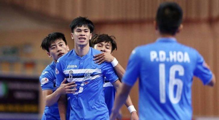 Thái Sơn Nam vô địch lượt đi giải futsal VĐQG 2017