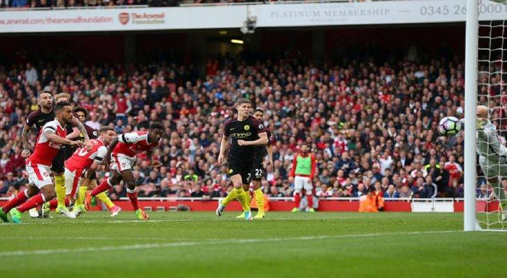 Arsenal 2-2 Man City: Cứu vớt giáo sư