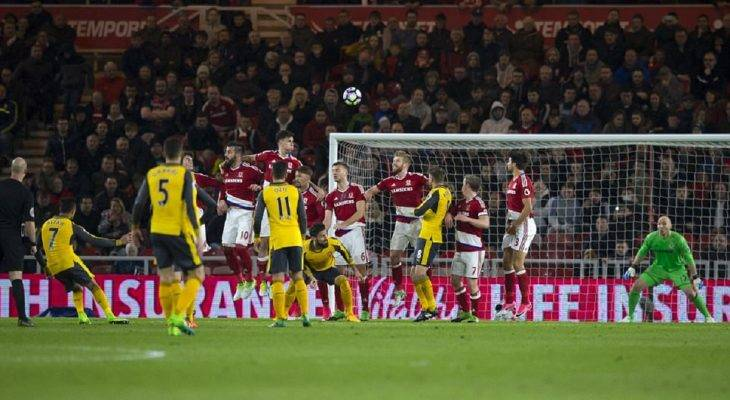 Middlesbrough 1-2 Arsenal: Níu kéo hi vọng