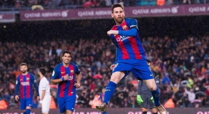"Barcelona 3-2 Real Sociedad: Messi ""nổ súng"" giúp Barca trở lại"