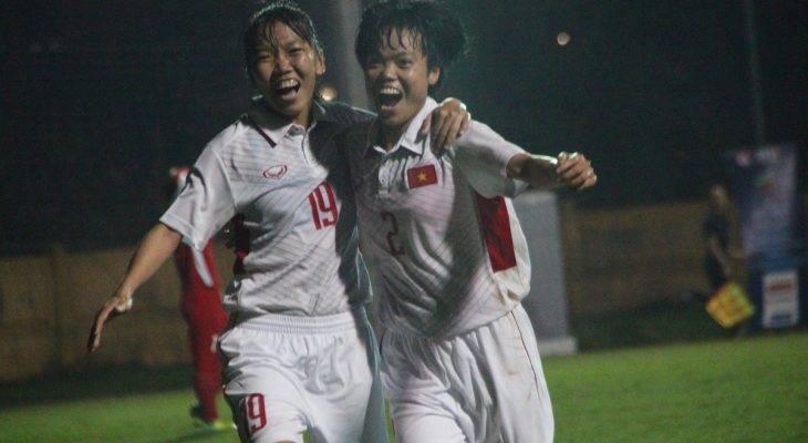 Thắng Myanmar, ĐT nữ Việt Nam có vé tới VCK Asian Cup 2018