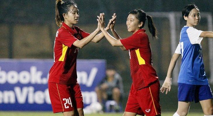 VL Asian Cup nữ 2018: ĐT nữ Việt Nam nhấn chìm Singapore