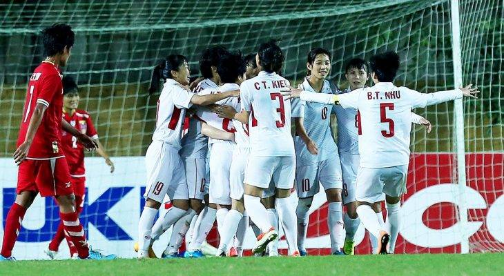 VFF hứa đầu tư mạnh cho ĐT nữ Việt Nam tại VCK Asian Cup 2018