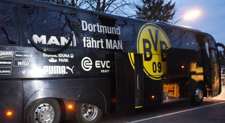 Bắt nghi can đánh bom xe buýt câu lạc bộ Borussia Dortmund