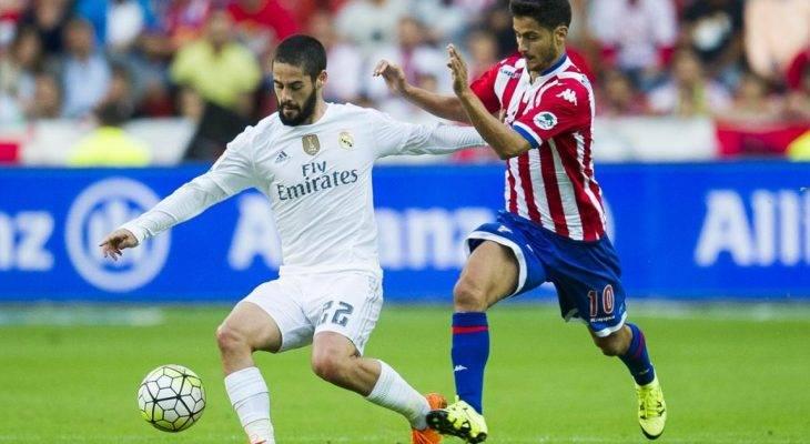 """Sporting Gijon 2-3 Real Madrid: """"Thánh nữ"""" Isco tỏa sáng"""