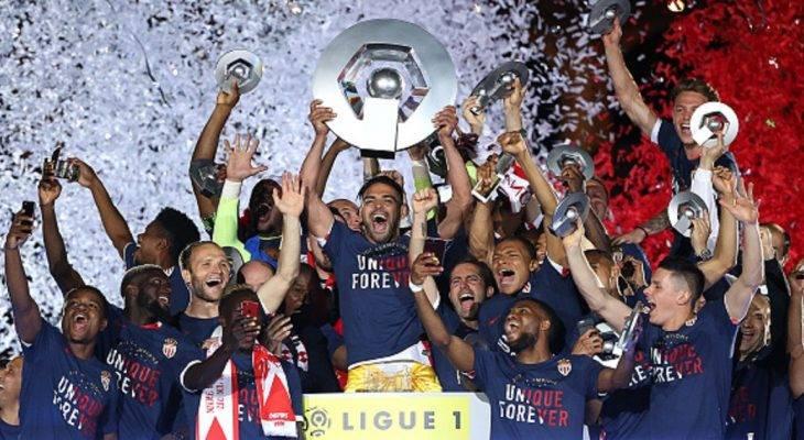 Chùm ảnh: Falcao nâng cup, AS Monaco vô địch Ligue 1 lần thứ 8 trong lịch sử