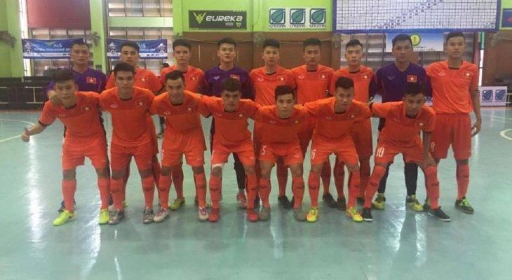 ĐT futsal U20 Việt Nam thắng trận giao hữu đầu tiên