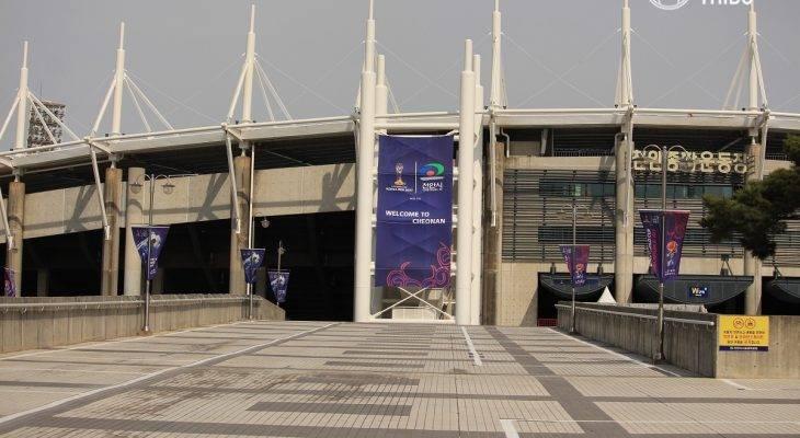 Sân Cheonan bình lặng trước ngày khai màn
