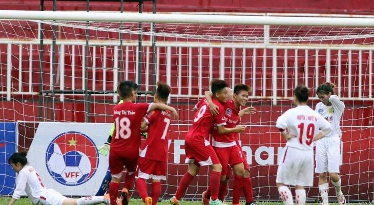 Giải VĐQG nữ 2017: PP Hà Nam vs Hà Nội I bất phân thắng bại