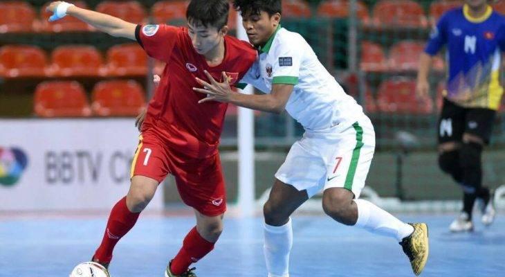 U20 futsal Việt Nam bị Indonesia chia điểm giây cuối