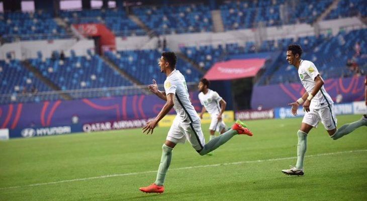 Chùm ảnh: Saudi Arabia là đội bóng cuối vượt qua vòng bảng