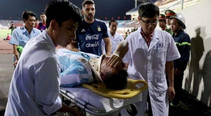 Tiền đạo U20 Argentina chính thức lỡ hẹn với World Cup
