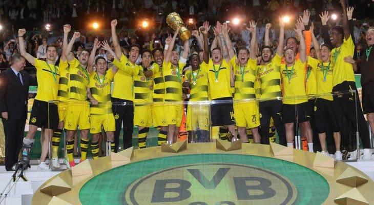 Đánh bại Frankfurt, Borussia Dortmund vô địch Cúp quốc gia Đức