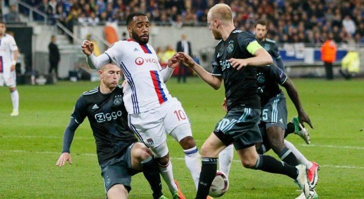 Lyon 3-1 Ajax (Agg: 4-5): Hú vía