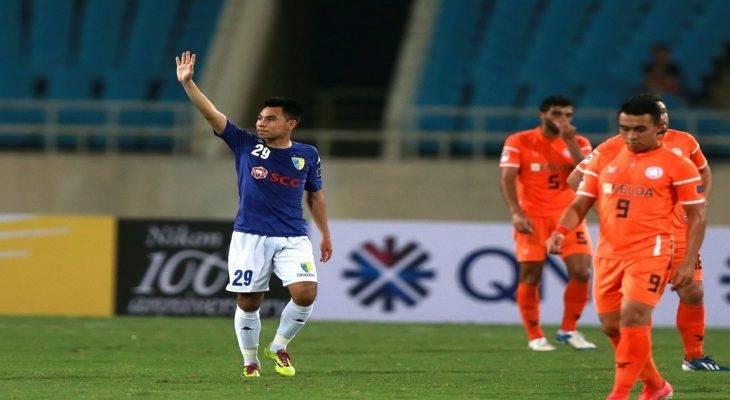 Siêu phẩm của Đức Huy lọt top bàn thắng đẹp nhất vòng đấu của AFC Cup