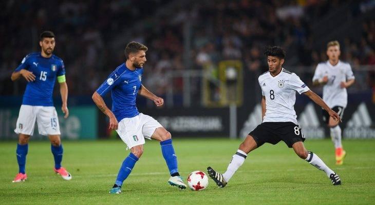 Italia 1-0 Đức: Dắt tay nhau vào bán kết