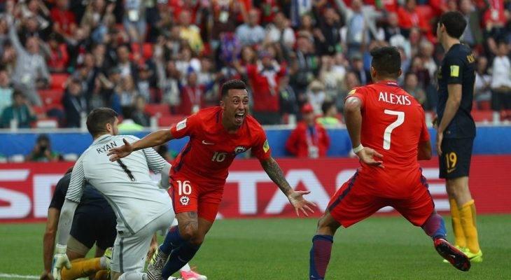 Chile 1-1 Australia: Vất vả cầm hòa Australia, Chile thẳng tiến vào bán kết