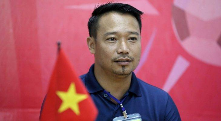 HLV Vũ  Hồng Việt chưa thực sự hài lòng với U15 Việt Nam