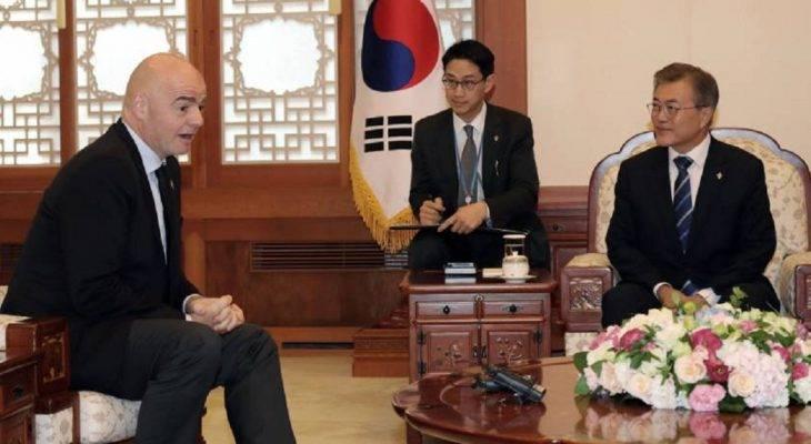 Tổng thống Hàn Quốc muốn cùng Triều Tiên đăng cai World Cup 2030