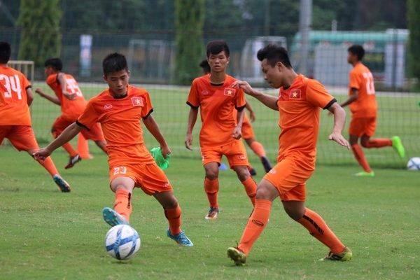 ĐT U15 Việt Nam bổ sung lực lượng trước giải U15 Đông Nam Á