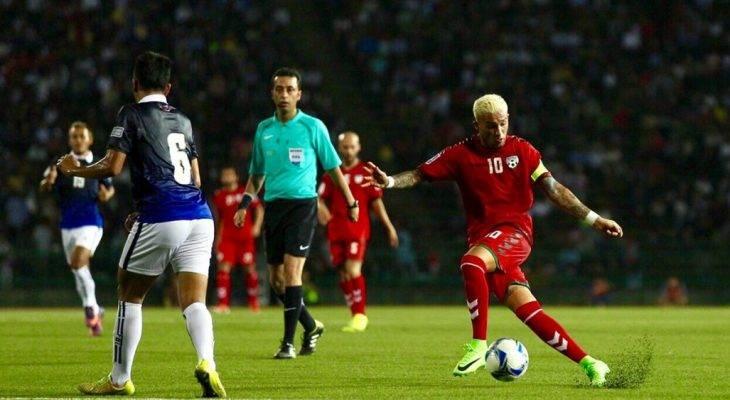 ĐT Campuchia thắng sốc Afghanistan ở vòng loại Asian Cup
